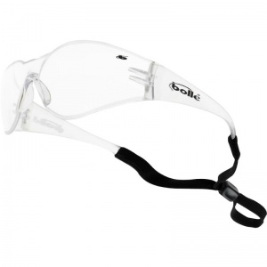 Bollé Bandido Clear Safety Glasses with Adjustable Cord BANCI